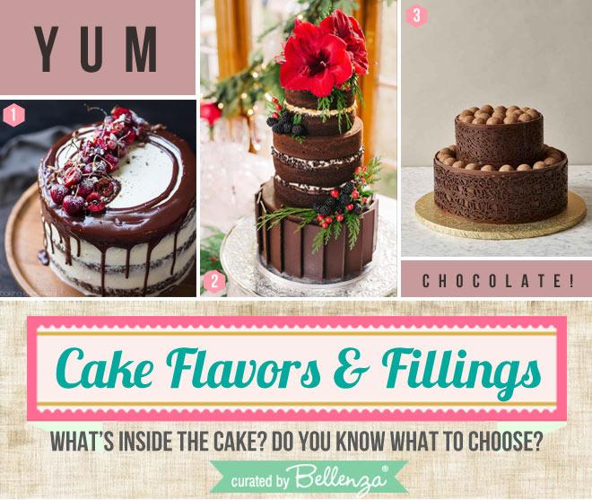 Chocolate wedding cake flavor