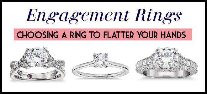 Rings that flatter hands