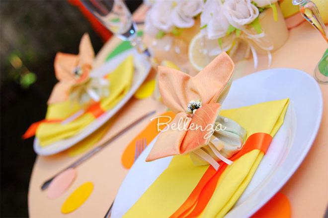 A Bright and Sunny Citrus Theme