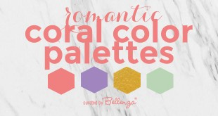 Coral Wedding Color Combinations for Summer 2019