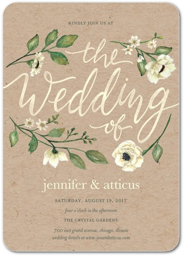 Delightful Blooms Wedding Invitations
