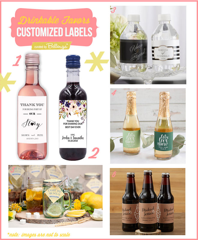 Mix and Bottle Your Own Beverages, then Order Personalized Tags or Labels