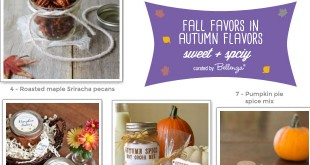 Fall Sweet and Spicy Favors for Guests