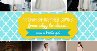 Spanish-inspired Gowns // Curated by Bellenza.