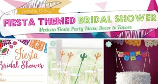 fiesta themed bridal shower ideas