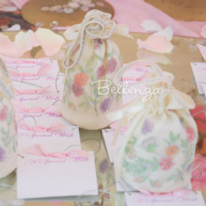Bridal shower favor pouches