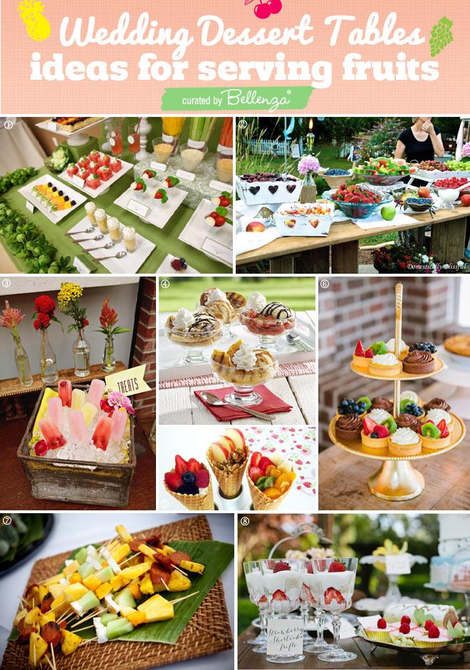 Fruit Dessert Table Ideas for Summer Weddings!