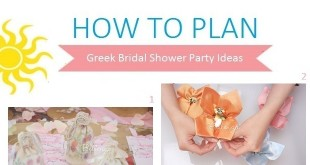 How to Plan a Gorgeous Greek Bridal Shower Party
