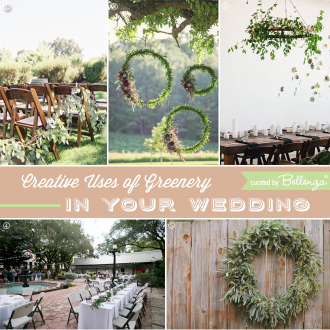 Gorgeous Ideas with Greenery for Your Wedding
