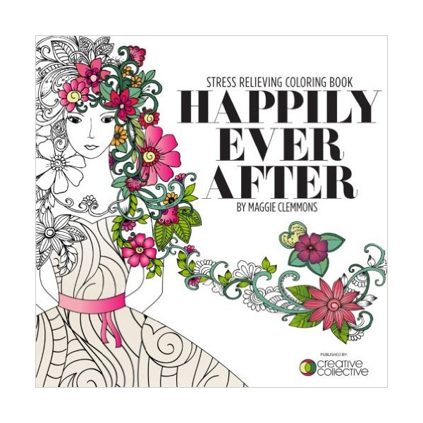 Happily Ever After Coloring Book.