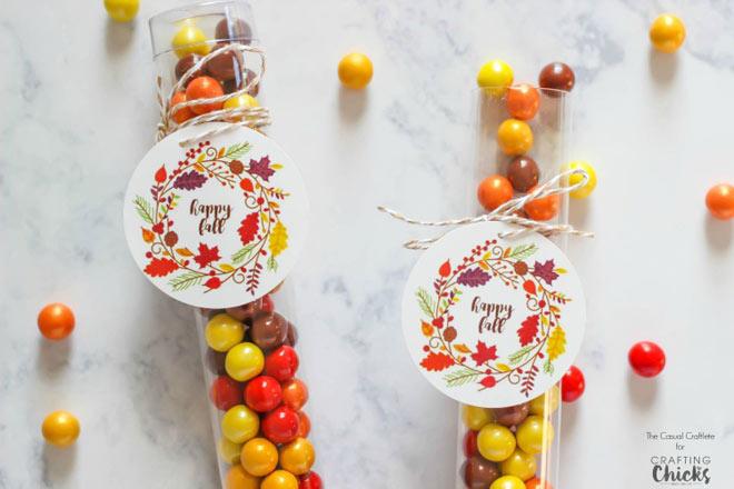 happy fall tags via crafting chicks