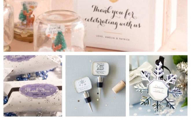 Unique December Wedding Favors