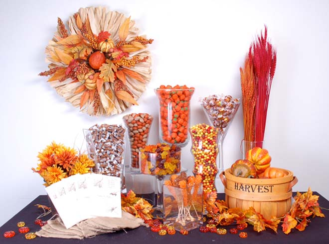 Candy buffet by Candy Galaxy featured on Ann's Bridal Bargains