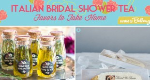 Italian Bridal Shower Tea