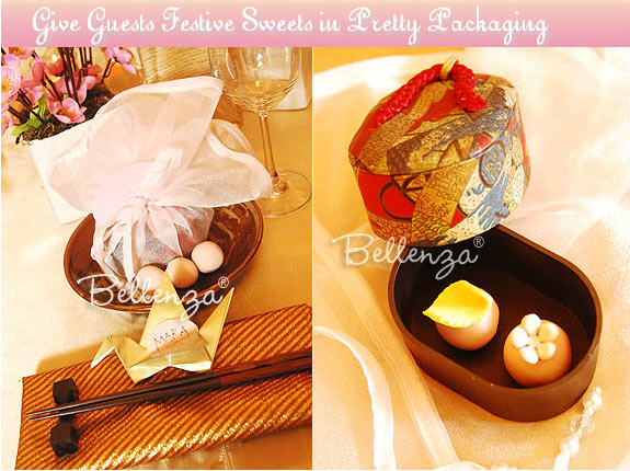 Japanese Engagement Party favors