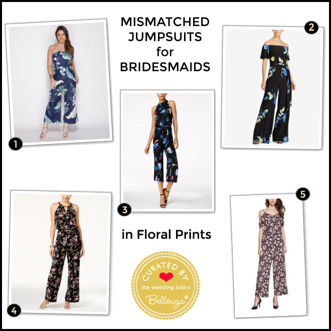 Jumpsuits Blooming in Floral Prints