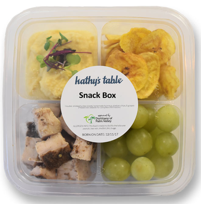 Kathy's Table Snack Boxes