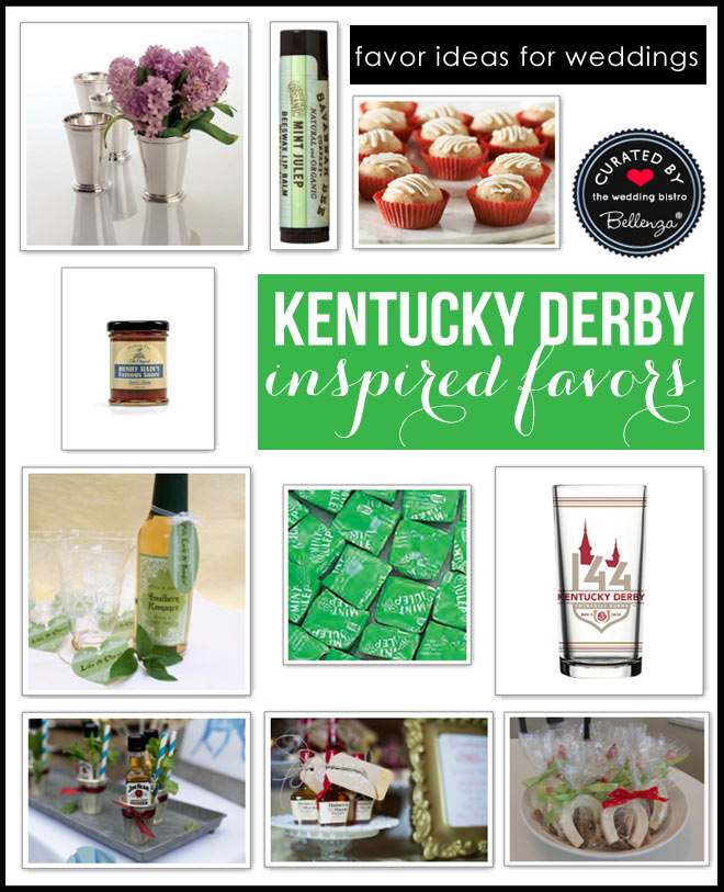 Kentucky Derby Wedding Favors