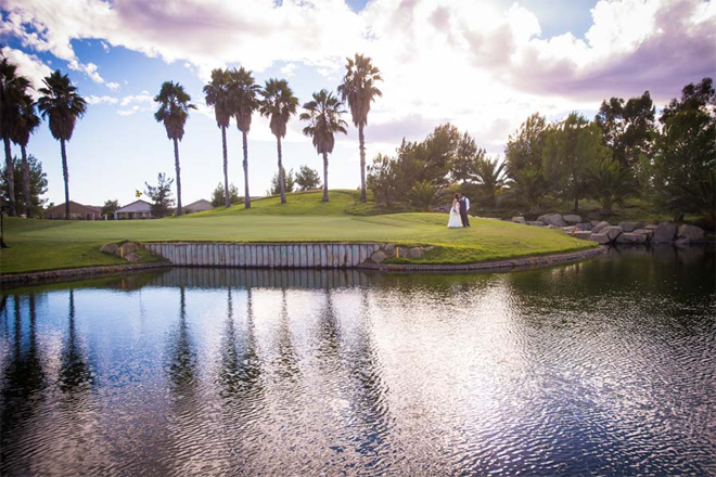 Menifee Lakes Country Club, Lake Menifee