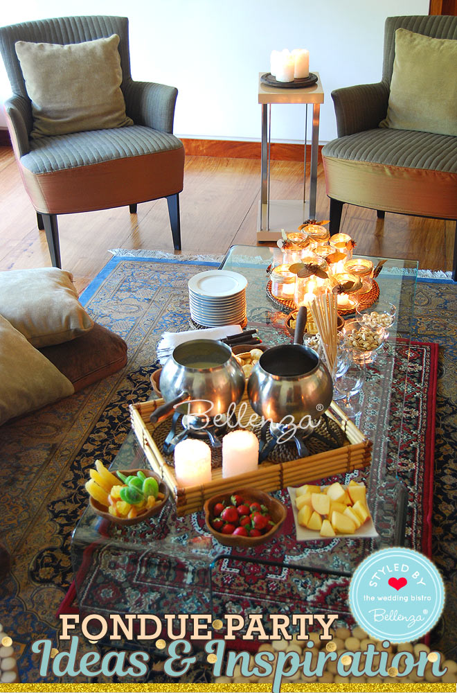 Host a fondue party in your living room // Bellenza