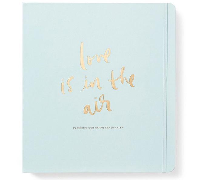 2017 Kate Spade Bridal Planner