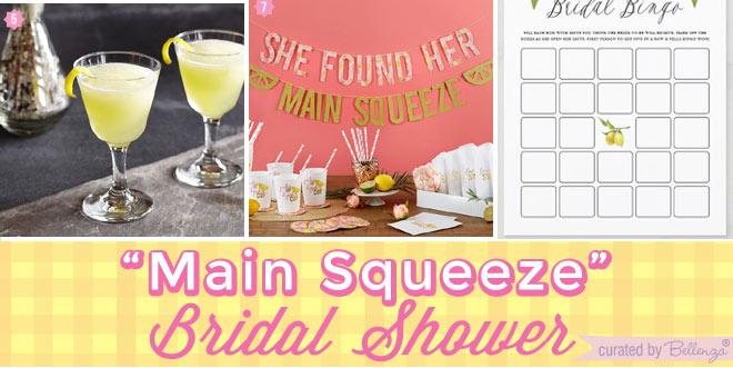 Bridal Shower Details Inspired by Zesty Lemon