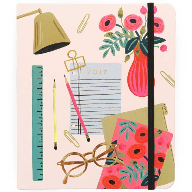 17-month Agenda Planner from Rifle Paper Co.
