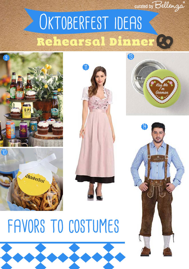How to plan - Oktoberfest Rehearsal Dinner Ideas