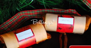 Creative ways to packaging small holiday gifts