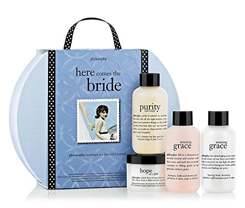 Skin Care and Fragrance Kit Here Comes the Bride from Philosophy