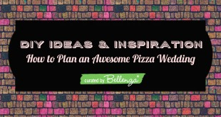DIY Ideas For a Wedding Pizza Reception