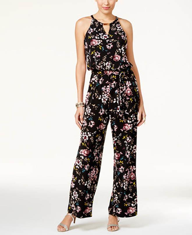 Thalia Sodi Embellished Jumpsuit