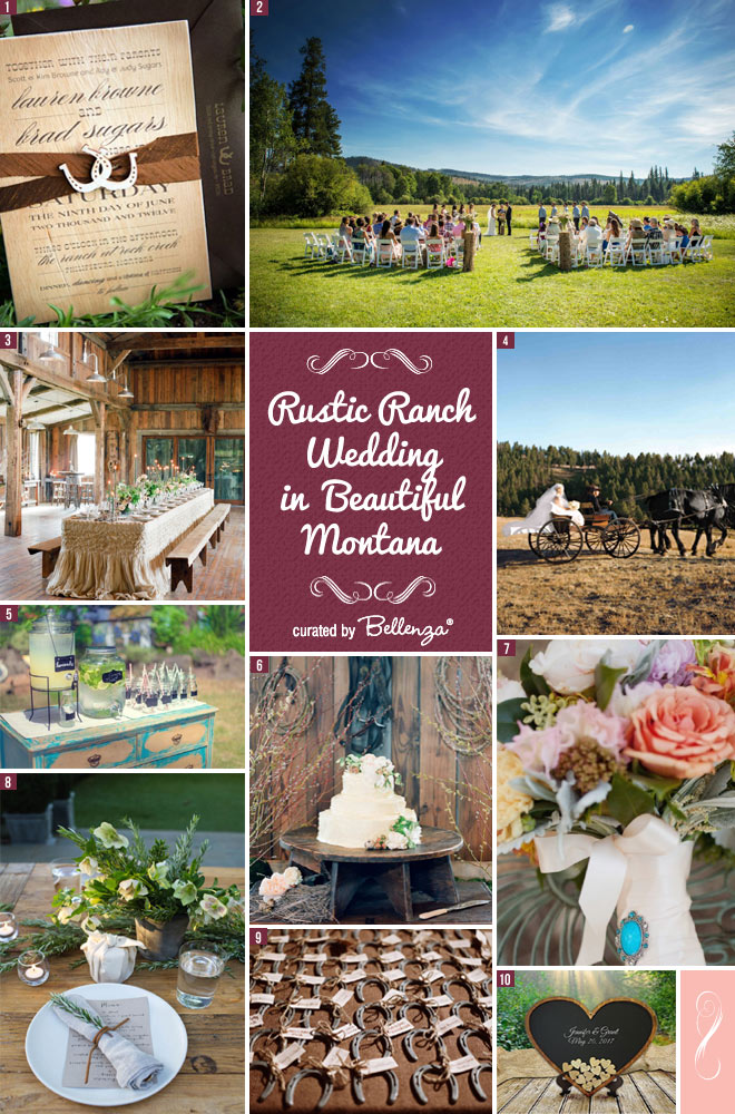Rustic Ranch Wedding in Montana.