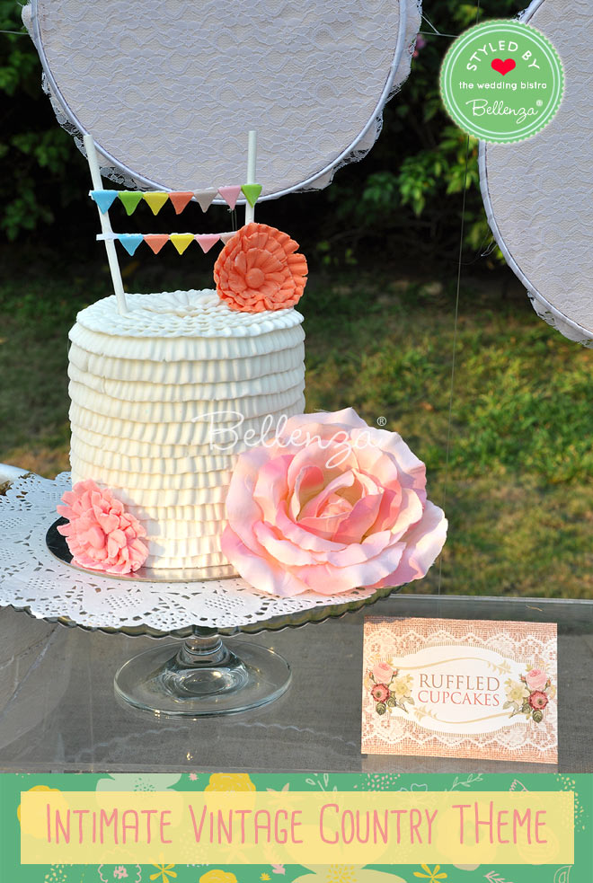 have a small cake table so it is congruent with a small cake