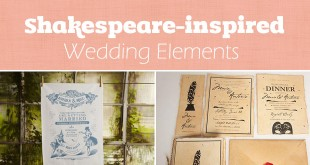 Shakespeare wedding theme