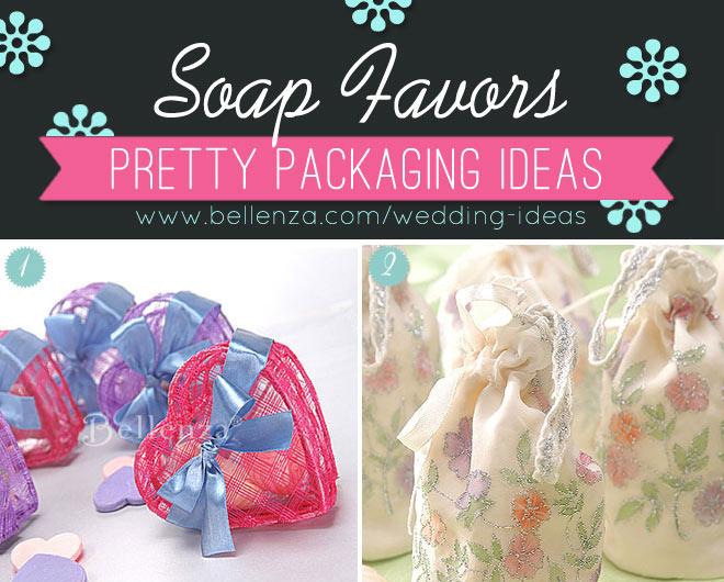 DIY Soap Wedding Favor Ideas