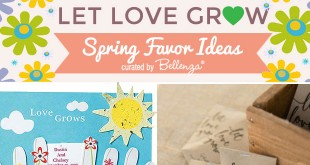 Let Love Grow Wedding Theme Ideas for Favors and Signs