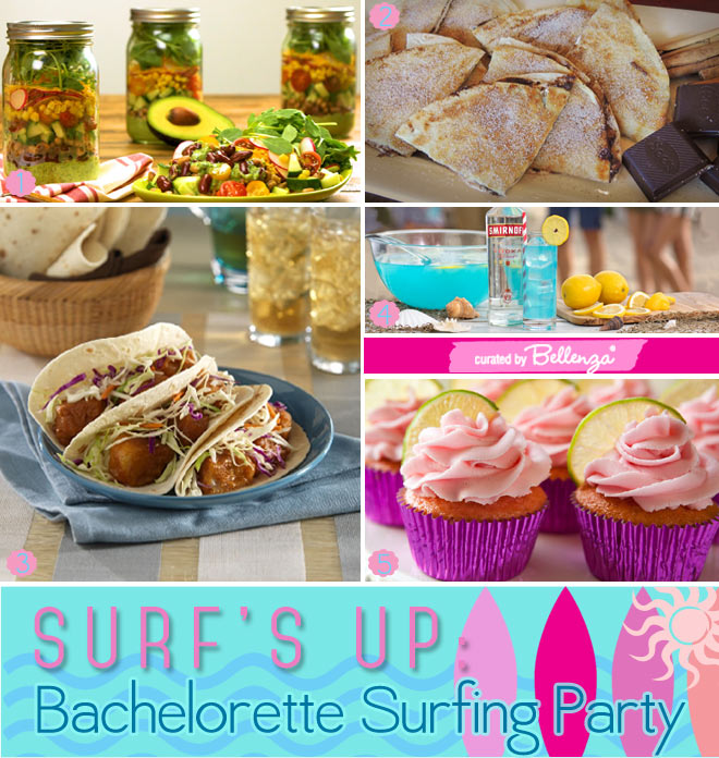 Bachelorette Surfing Party Food