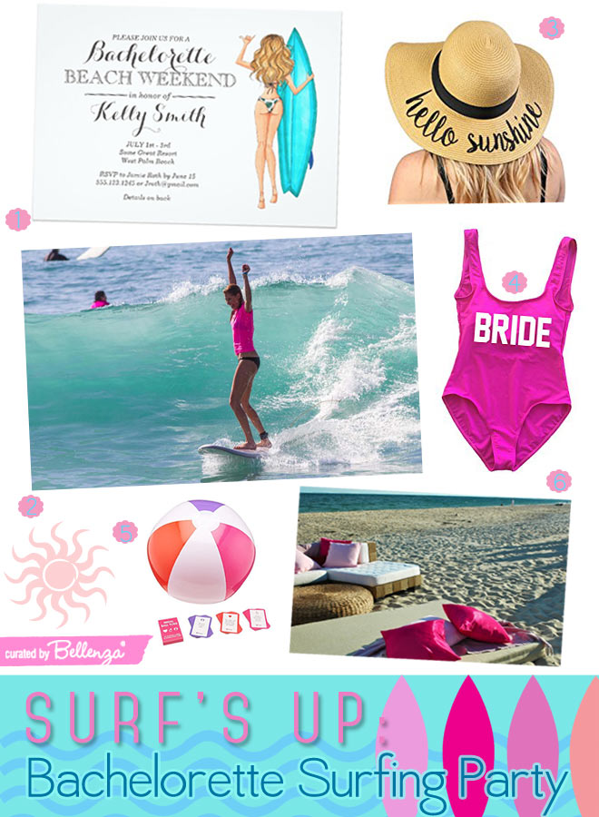 Surf's Up: Bachelorette Surfing Party for Your Gals