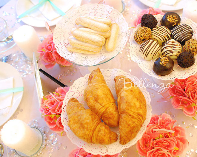 Tea party food // Bellenza styled shoot