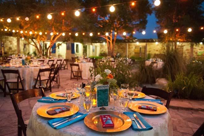 Q Weddings, via Marigold Events.