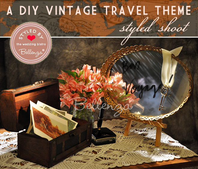 Welcome Vignettes for a Vintage Travel Theme by Bellenza.
