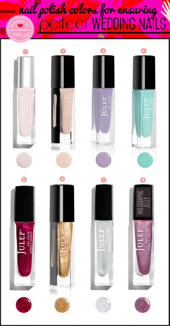 Nail polish shades and colors featuring Julep // curated by Bellenza.