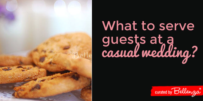 What to Serve your Guests at a Casual Wedding Reception?
