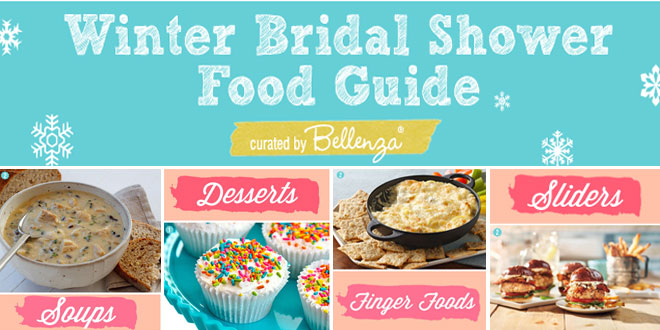 16 Easy Recipes for Winter Bridal Shower Good